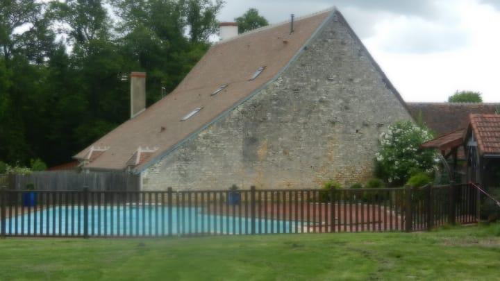 gîte 20 places Centre France
