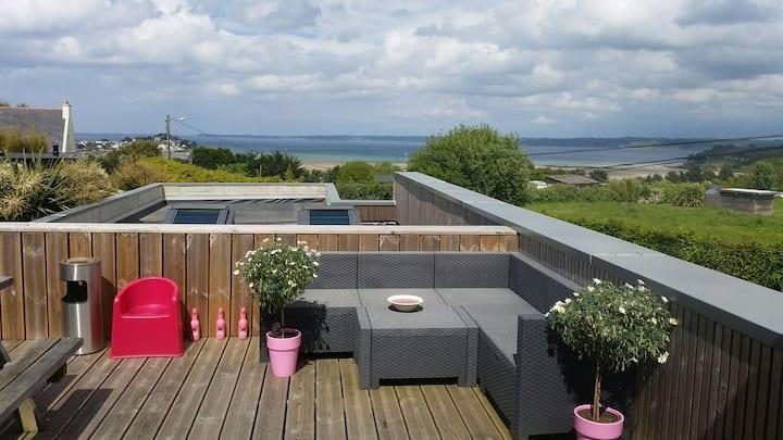 Maison d architecte vue mer