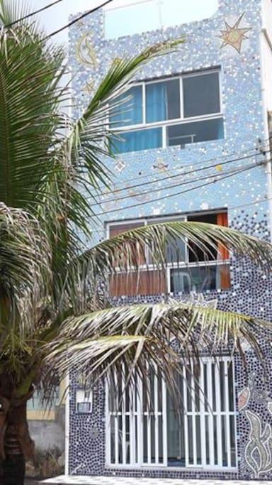 Casa incanto della sirena case in affitto a salvador for 3 piani casa in stile ranch da camera da letto