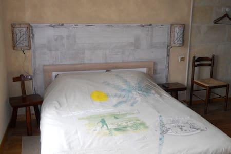 Chambre ambiance bord de mer - Saint-André-de-Cubzac - Bed & Breakfast