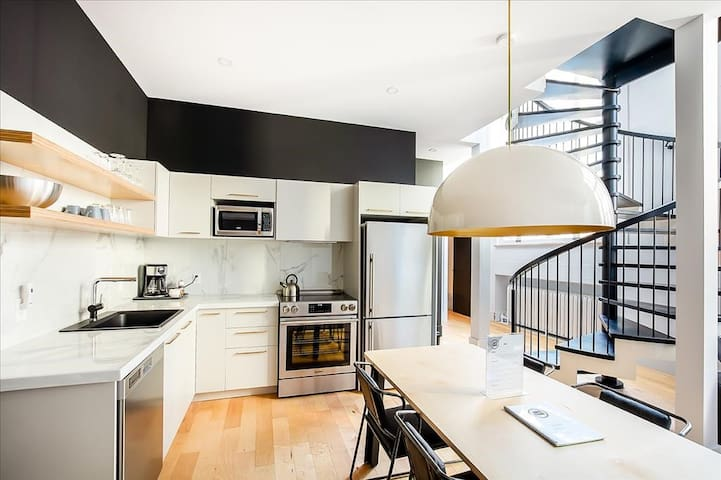 Luxury 2-bedroom flat on 2 floor in Old Québec
