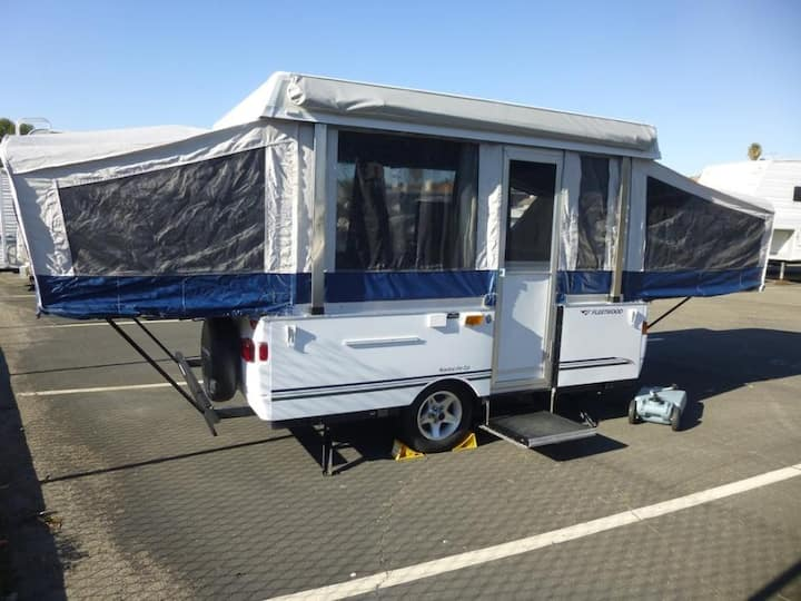 PopUp Trailer delivered to your campsite