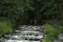 Wildwasser im Warnow- Durchbruchstal
