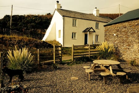 Hafodty is a 4 bedroom farm house. - Tywyn