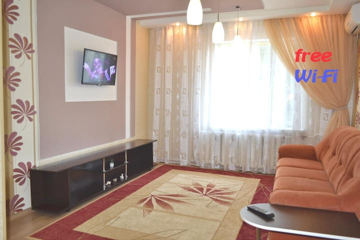 apartment near the Dnieper River