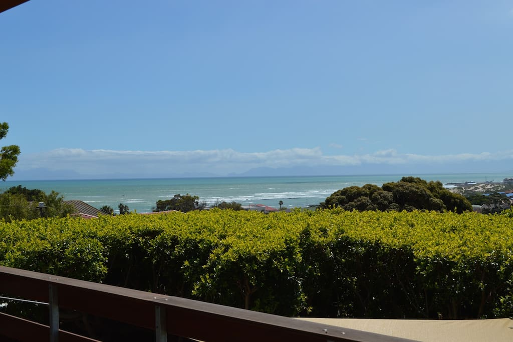 Ocean view from the deck