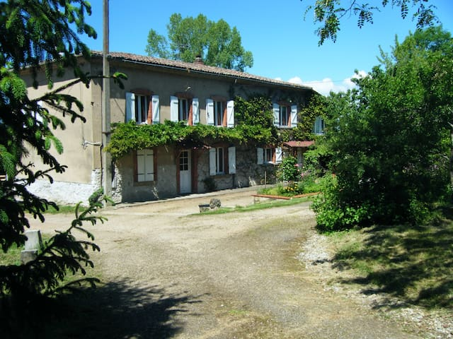 gite 4pers-parc naturel livradois   - Sermentizon - Casa