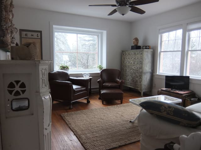 Sweet 2BD, Lake View, Walk 2 Town - Narrowsburg - Daire