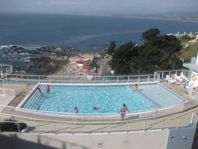 Departamento frente al mar - Con Con - Apartamento