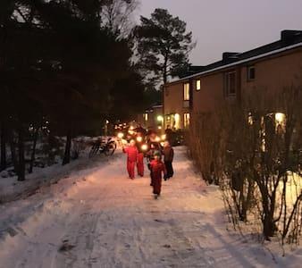 Unikt och charmigt 50 tals radhus - Stockholm