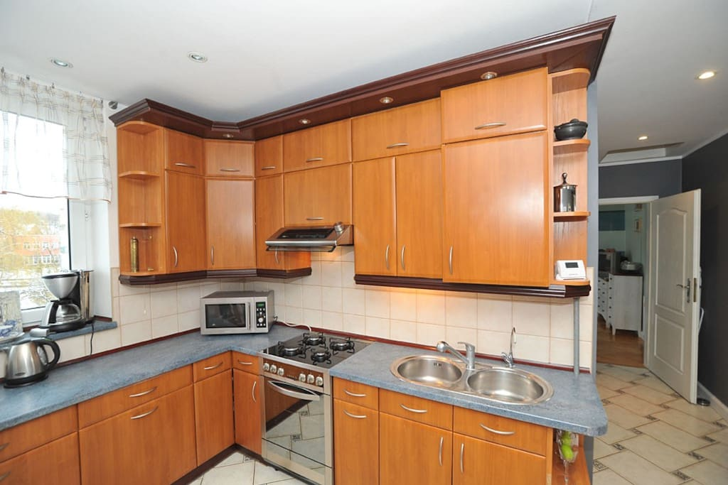 Kitchen fully equipped.