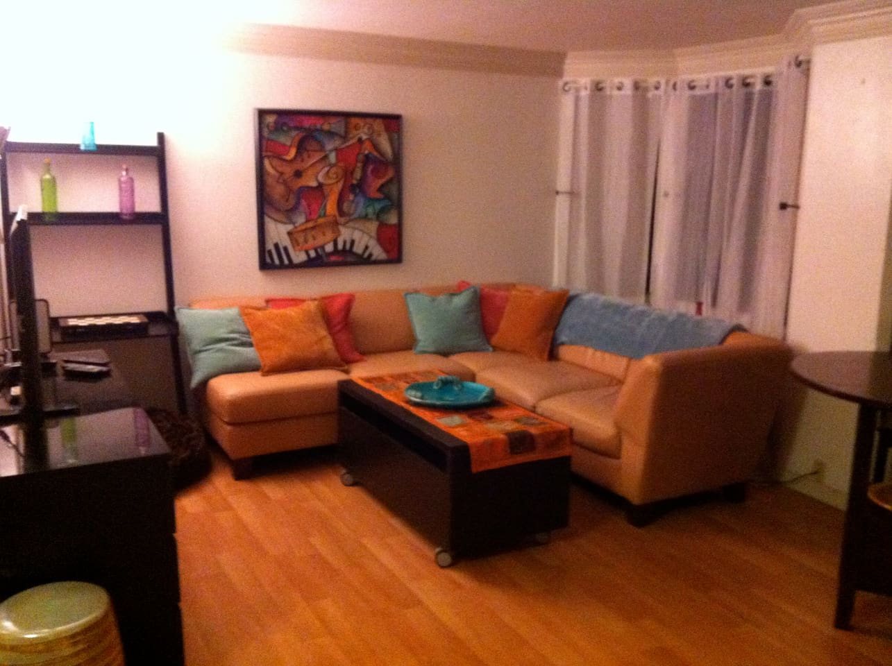 Enjoy relaxing in our shared living room