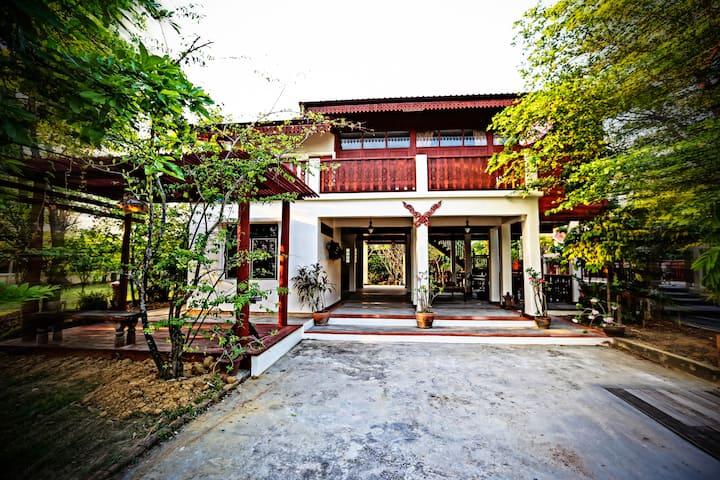 Private Waterfront Thai Style Villa