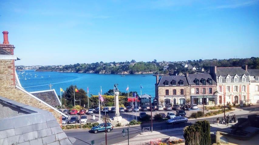 Studio + terrasse vue sur mer - Dinard - Apartment