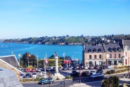 Studio + terrasse vue sur mer - Dinard