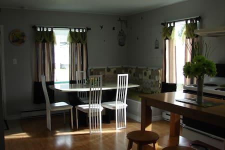 maison de nos ancetre - Saint-Alexis-des-Monts - Hus