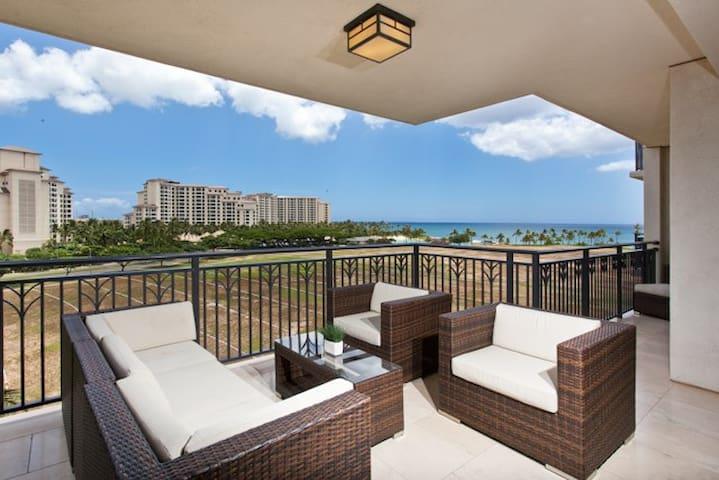 Luxury ocean view Beach Villa 622 - Kapolei - Huoneisto