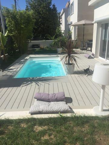 Maison de ville Nice Cimiez avec piscine
