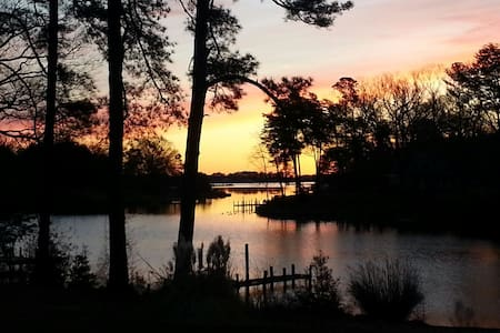 Waterfront Near Chesapeake Bay - Reedville - House