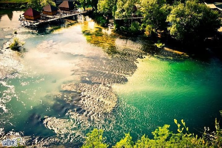 Beautiful river and nature.