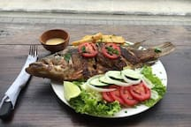 Local Specialty -  A Must Try! Fresh White Fish Petenia Esplendida