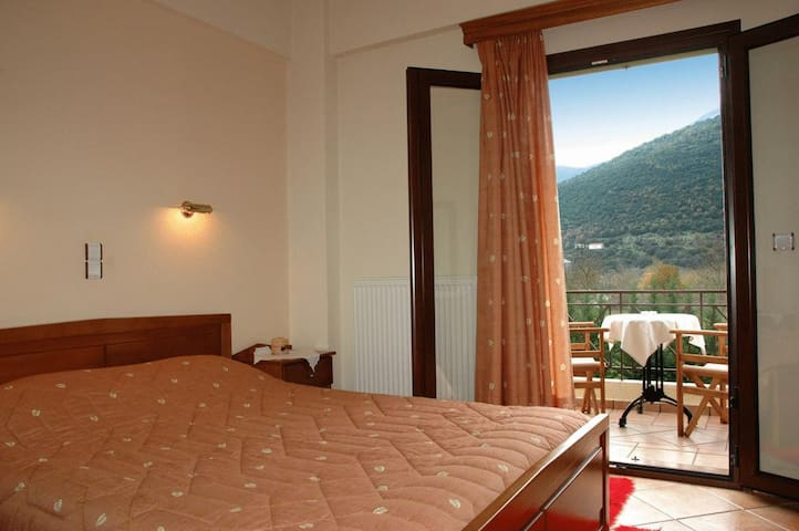 Double Hotel Room with Mountain view