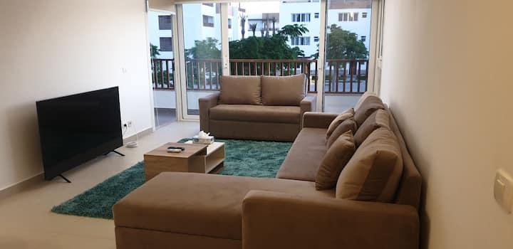 Almaza Bay BeachTown Cozy 2 Bedroom with Terrace