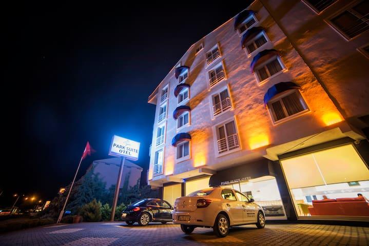 Cosy Park Suite Hotel 1# - Çanakkale - Aamiaismajoitus