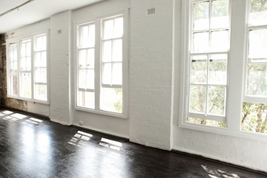 Open space for photography/artist studio or can add another guest bed