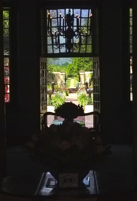 A view from inside the Vergelegen manor house. You will want to come back again and again.