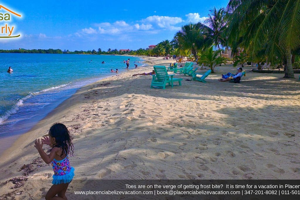 Placencia has the best beaches in Belize.