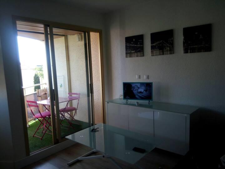 studio avec bail résidence secondaire ou mobilité