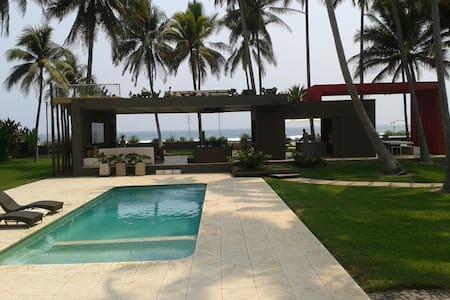Beachfront Villa Costa Azul