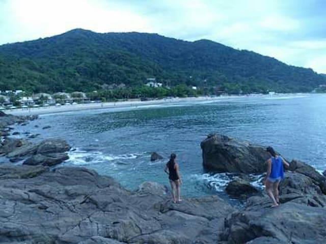 Casa Praia da vila, réveillon Juquehy Beach/Brazil