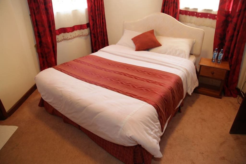 our hotel bed nairobi