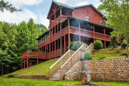 Carters Lake Lodge - Ellijay - Chalet