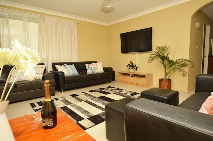 The Perch, large family holiday house in Yamba