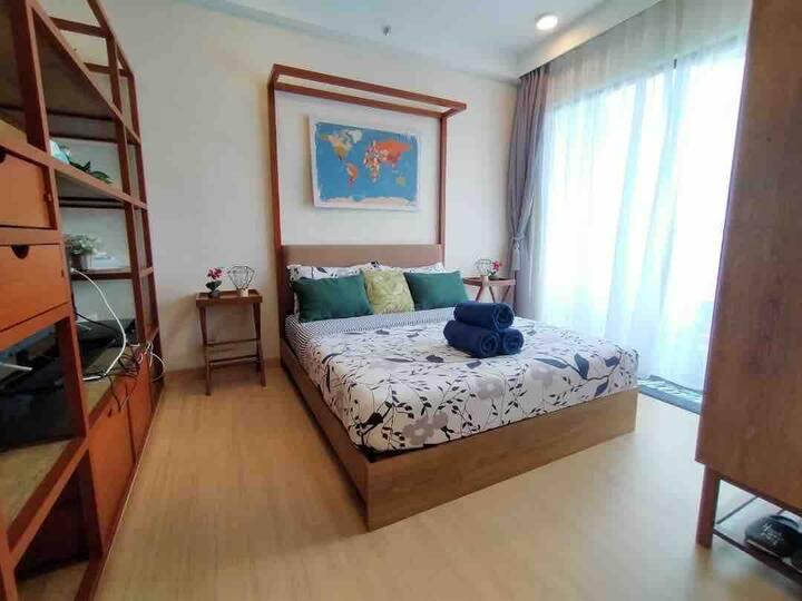 Te Aroha suite at Timur Bay, Balok