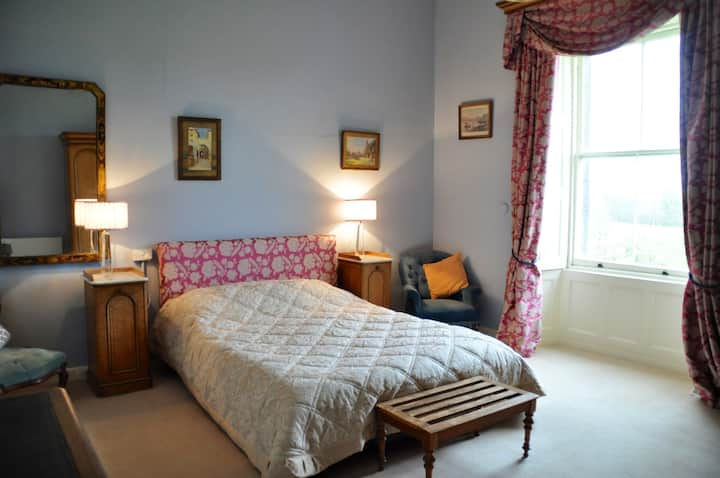 Garden View Double Room in Manor | Temple House