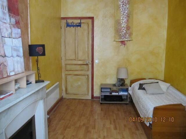 2° chambre: 2 couchages en 90