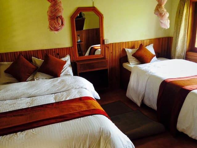 Chitwan forest delux resort  room