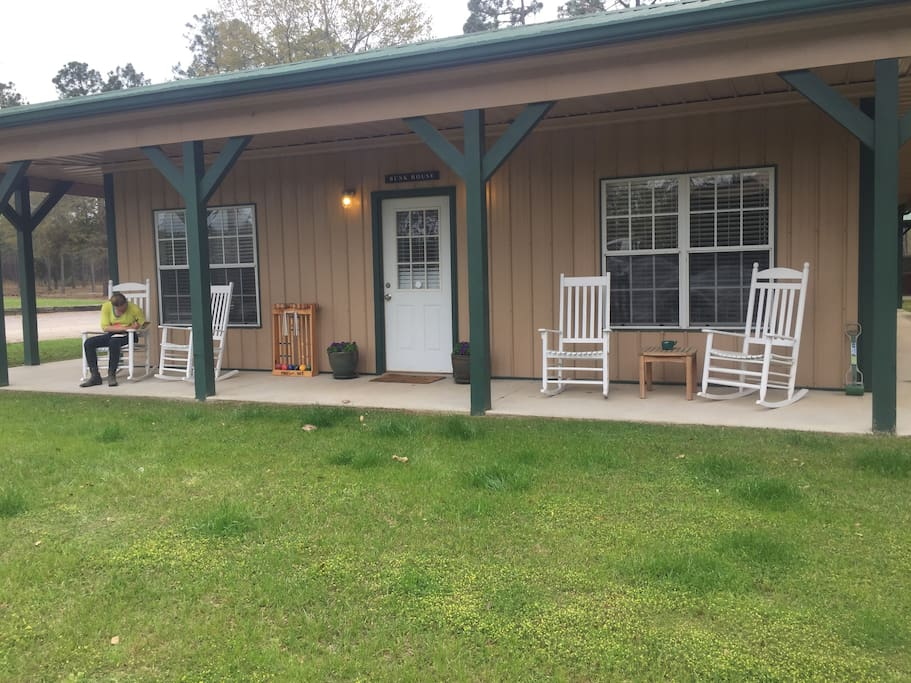 Rocking chairs added!