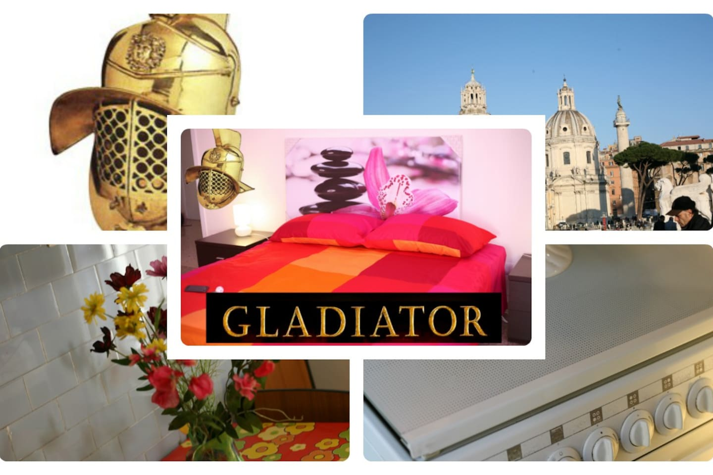 """""""GOLD GLADIATOR""""  20mt from Metro"""