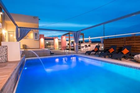 Galazio Sea View Villa - Rodos
