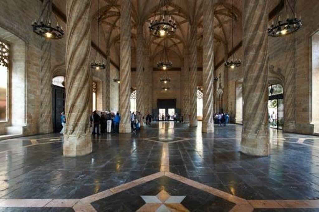 Interior Lonja