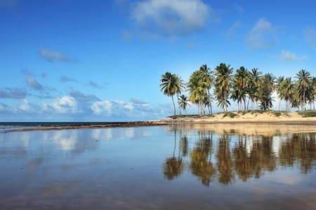 Increíbles chalets de playa en terreno tropical - Maracajaú - Chalet