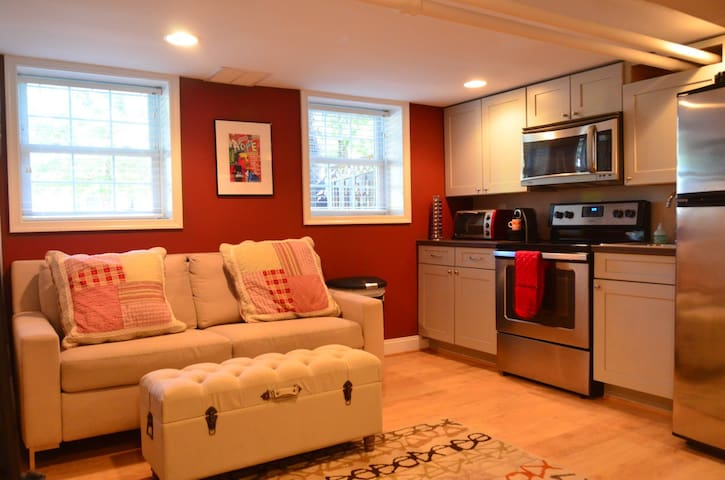 Bright newly renovated 1 B/R apt in charming area! - Washington - Appartement