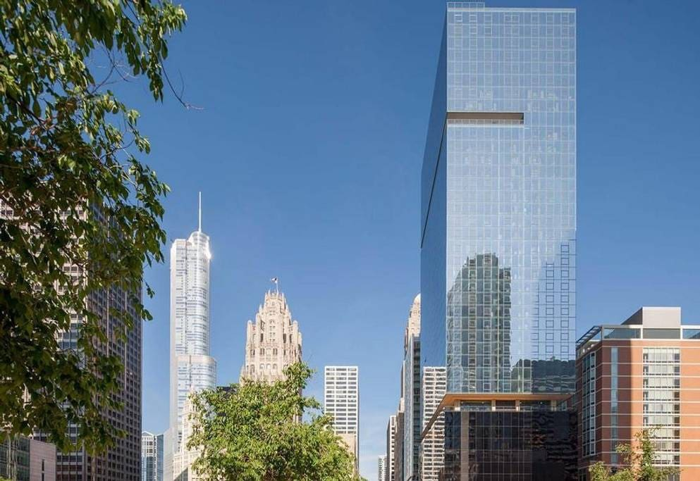 Located in the heart of downtown Chicago