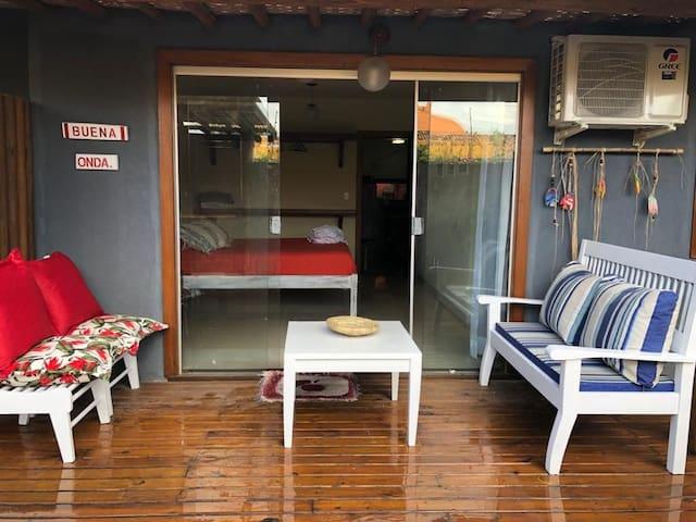 Sweet home a 50 mts da praia de Araçaipe