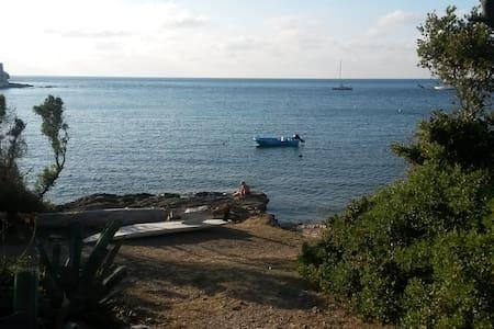 T2, pieds dans l'eau, pte Cap Corse - Ersa
